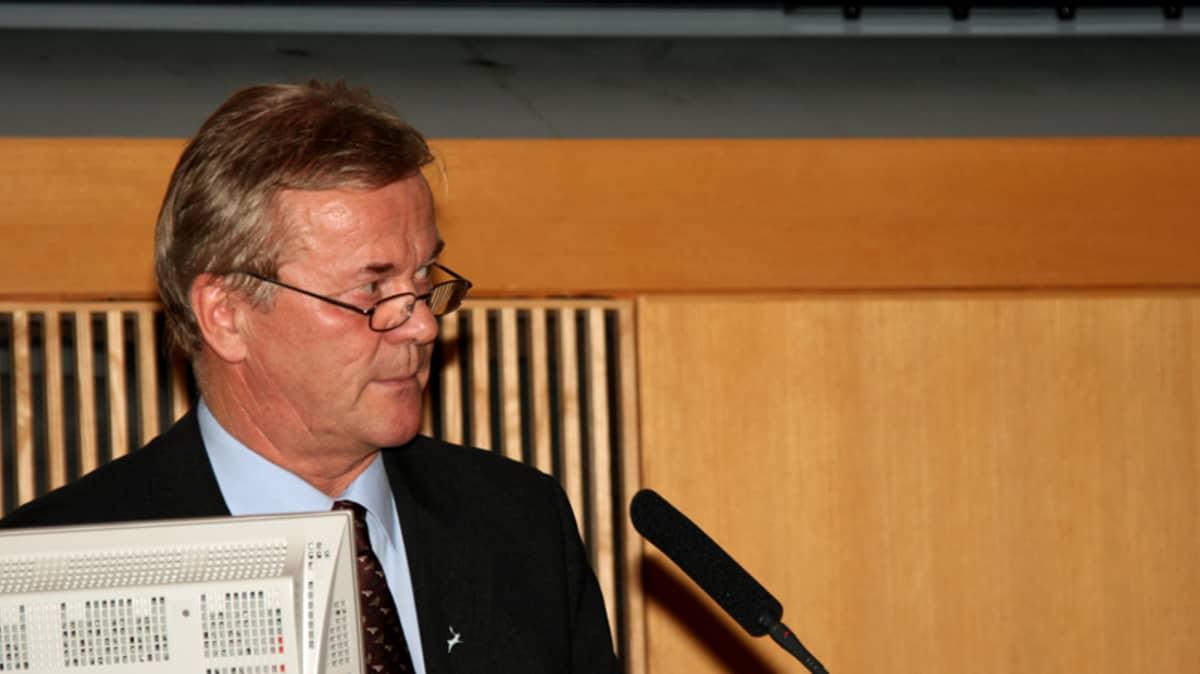 Rovaniemen kaupunginjohtaja Mauri Gardin