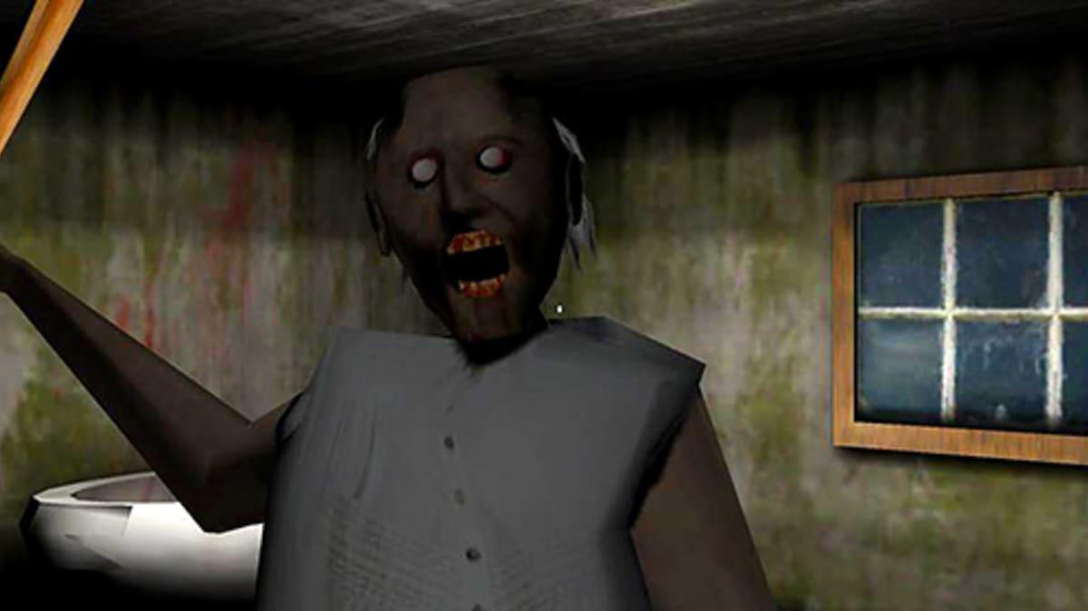 Kuvassa Granny pelin zombimummo