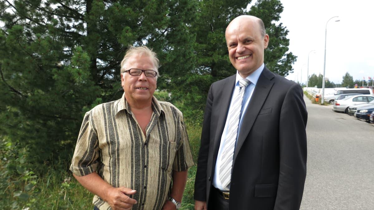 Jarmo Juntunen ja Petri Kankaansivu