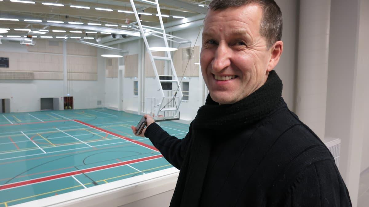 Jorma Kauttio, Ounasrinteen koulu, rehtori