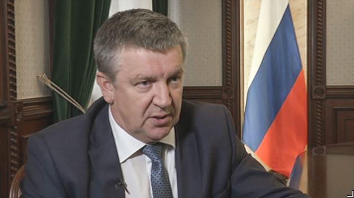 Aleksandr Hudilainen on Karjalan tasavallan päämies.