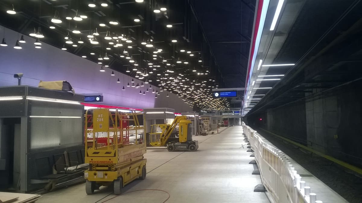 Lauttasaaren metroasema 23.9.2016.