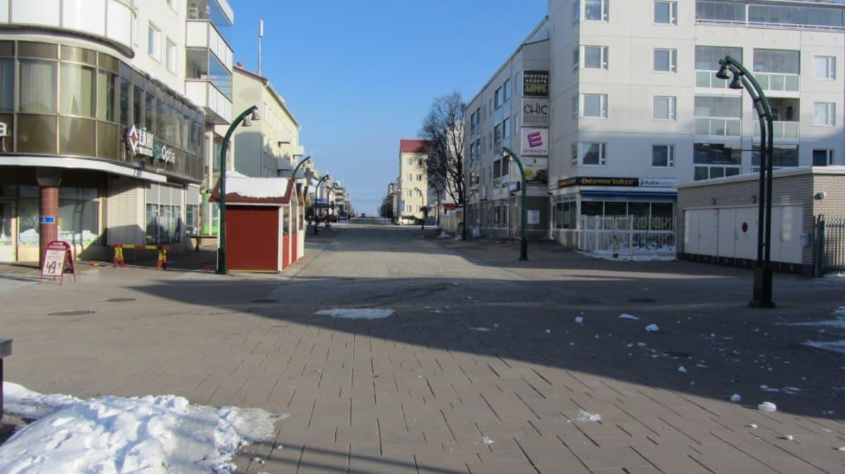Kävelykadulle halutaan tuottaa kaupungin puolesta lisää toimintaa.