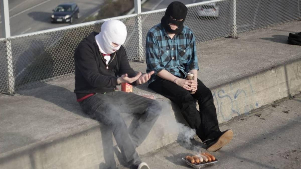 Ramin kuntopolku, urban grindcore, promokuva