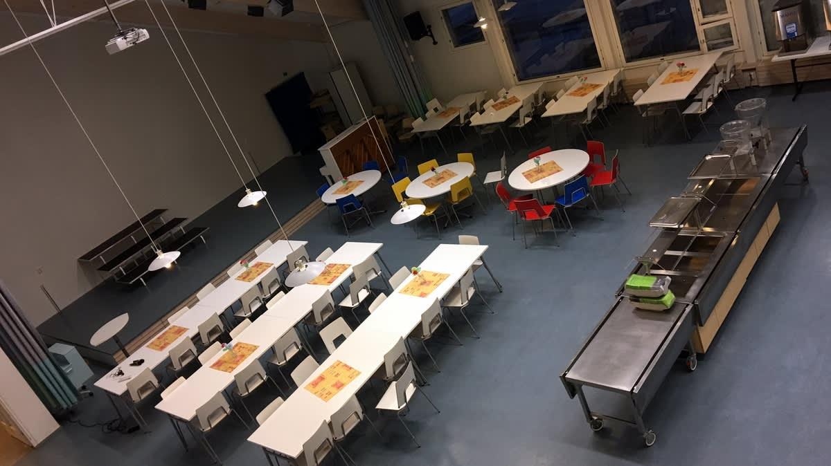 Linnalan koulun ruokala