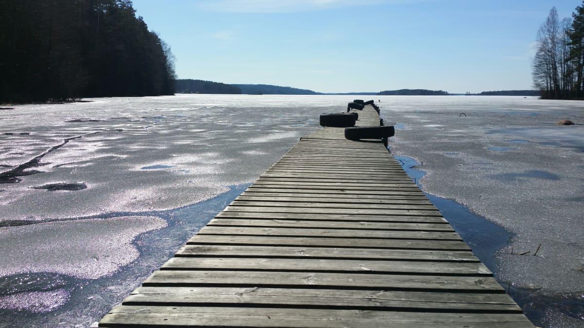 Vuohijärvi 23.4. 2018