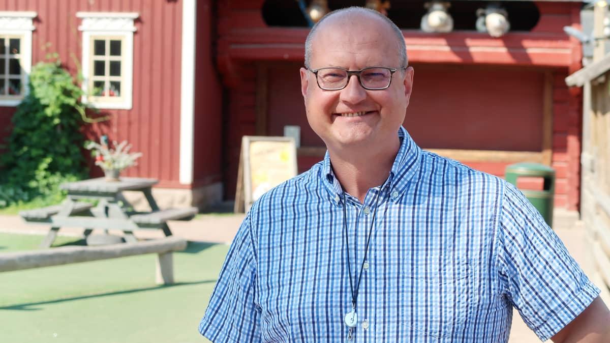 Särkänniemen toimitusjohtaja Miikka Seppälä