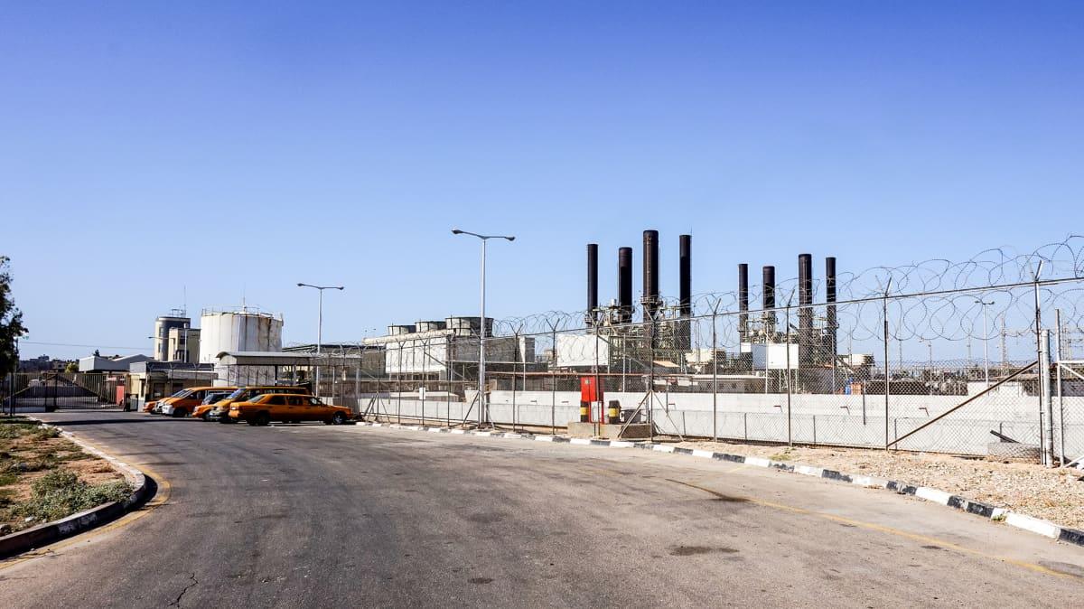 Gazan voimalaitos.