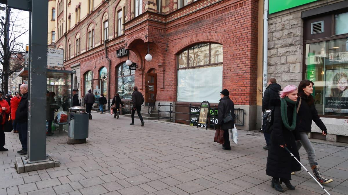 Tyhjä liiketila osoitteessa Hämeenkatu 17, Tampere