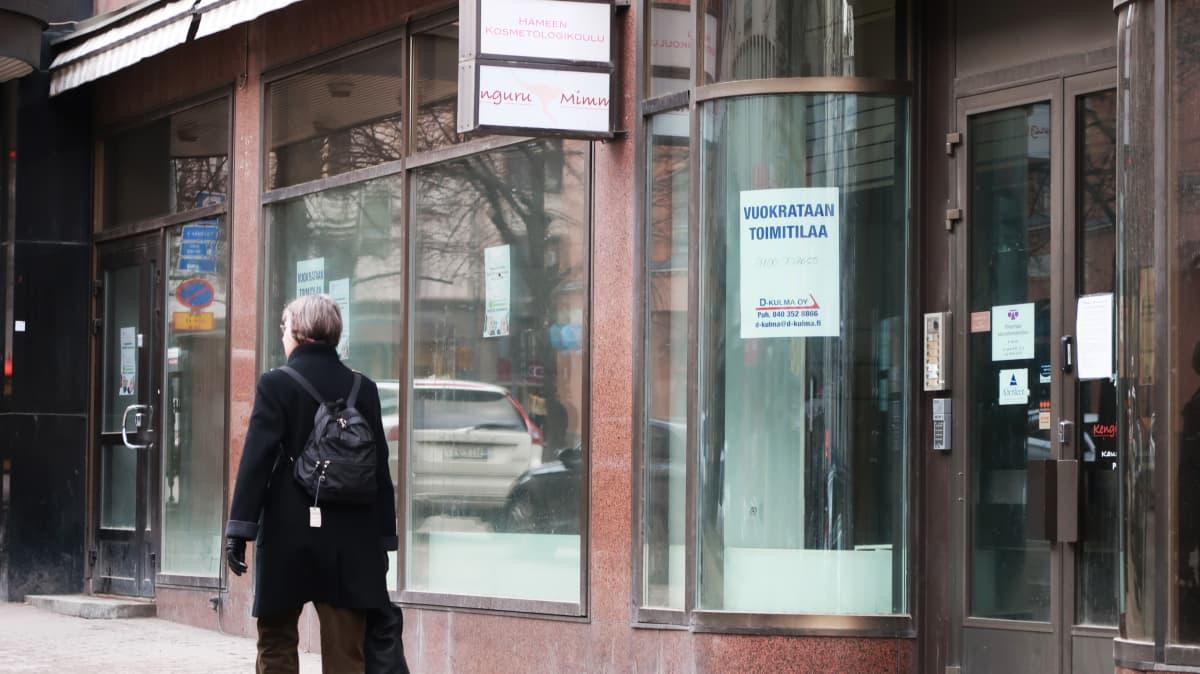Tyhjä liiketila osoitteessa Hämeenkatu 24, Tampere
