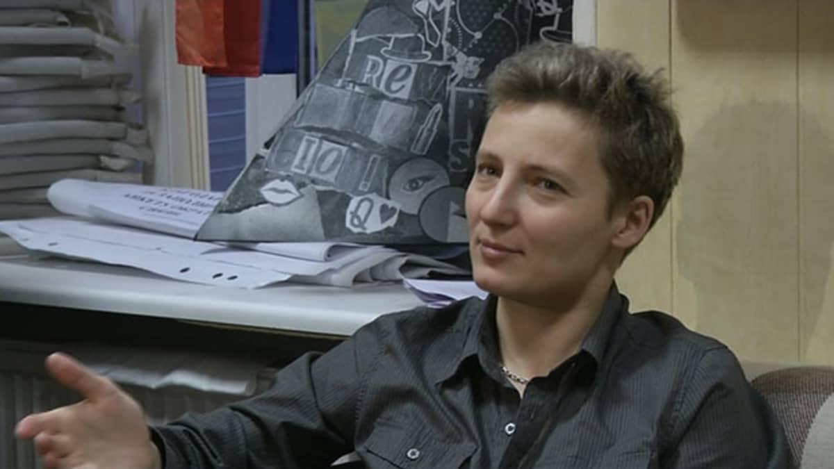 Polina Savchenko, puheenjohtaja, Vihod -järjestö