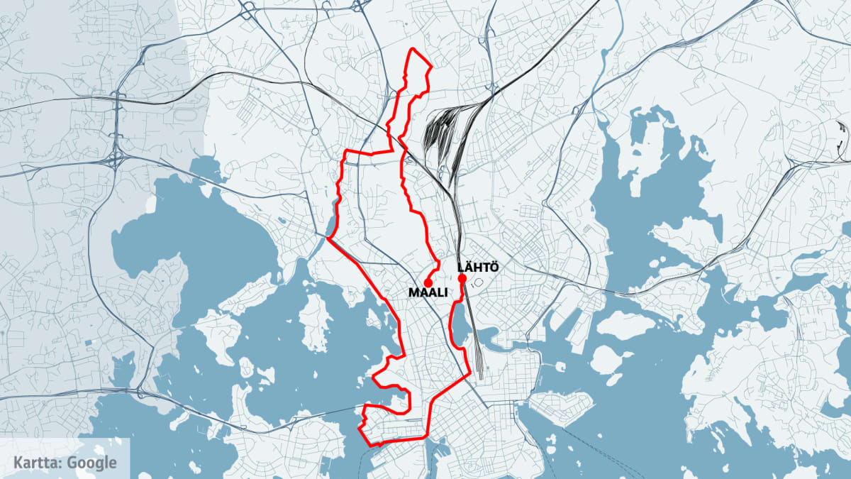 Tänä vuonna Helsinki City Run juostaan uudistetulla, enemmän kaupunkimaisemaa sisältävällä reitillä.