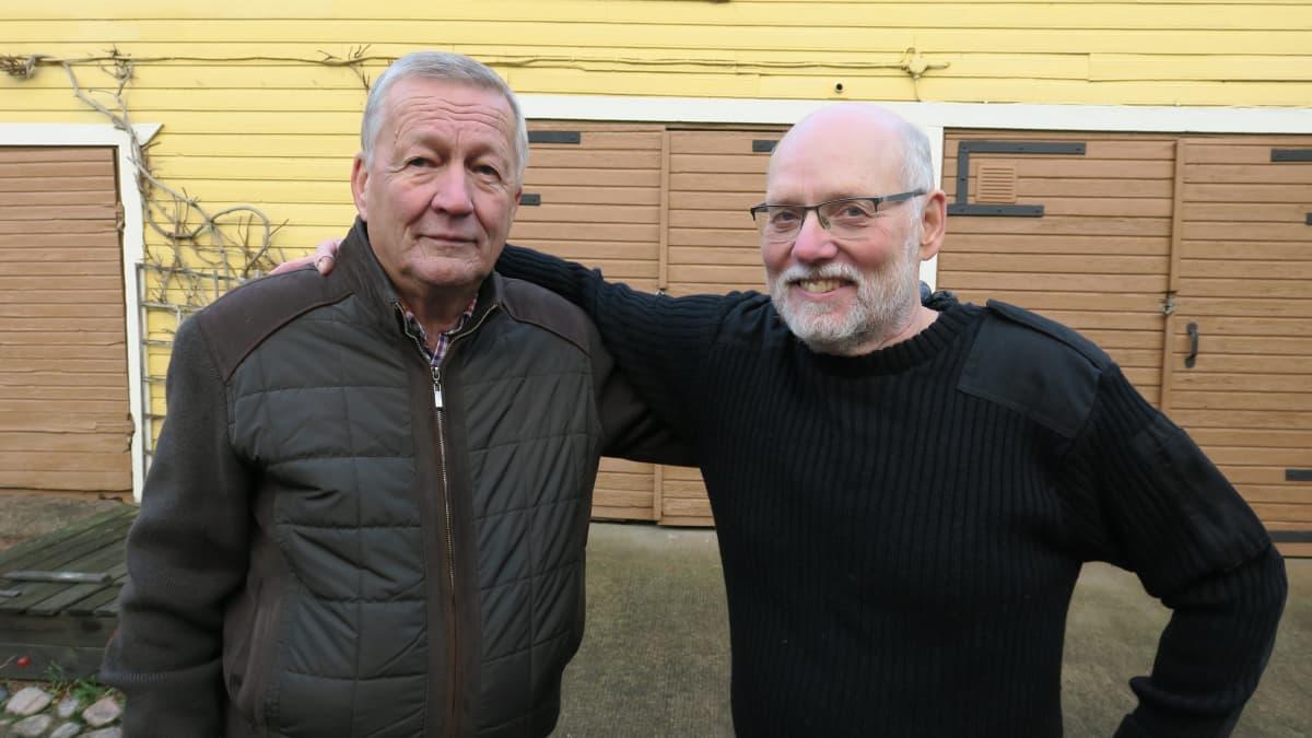Pertti Nurmi ja Matti Parpola.