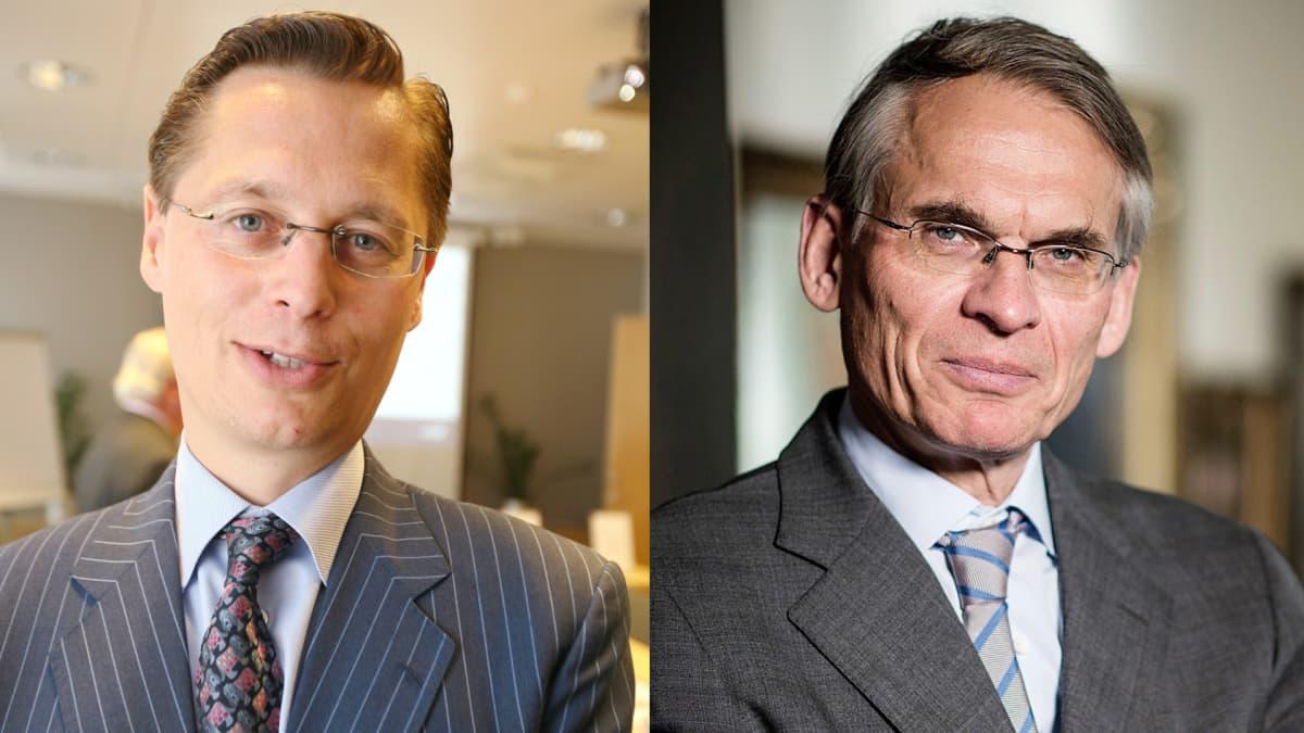 Georg J. C. Ehrnrooth ja Henrik Ehrnrooth