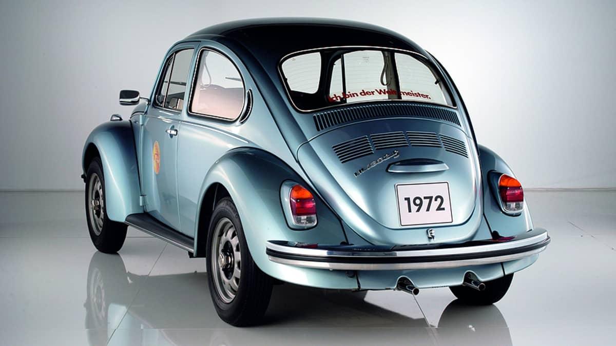 Volkswagen 1302 Weltmeister vuodelta 1972.