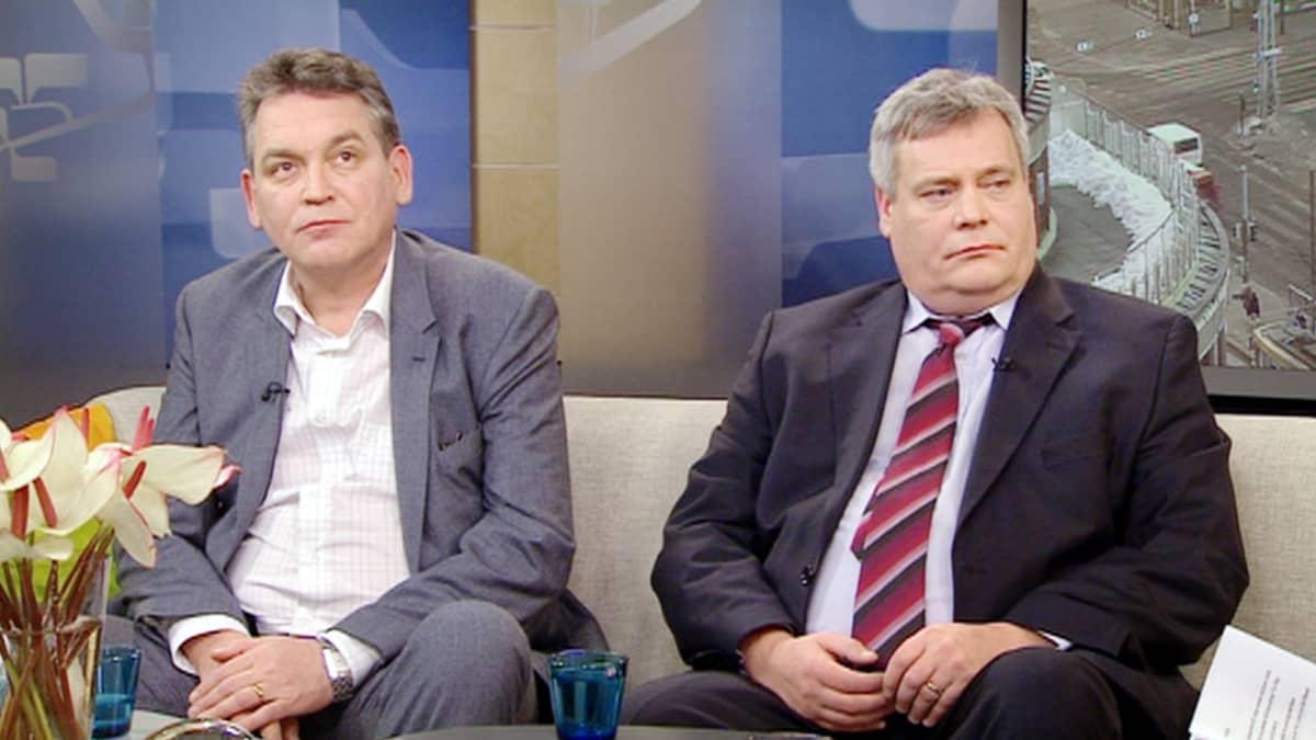 Esa Vilkuna ja Antti Rinne