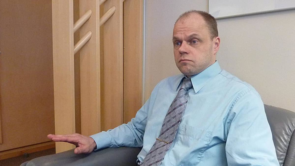 Keminmaan kunnanjohtaja Tommi Lepojärvi.