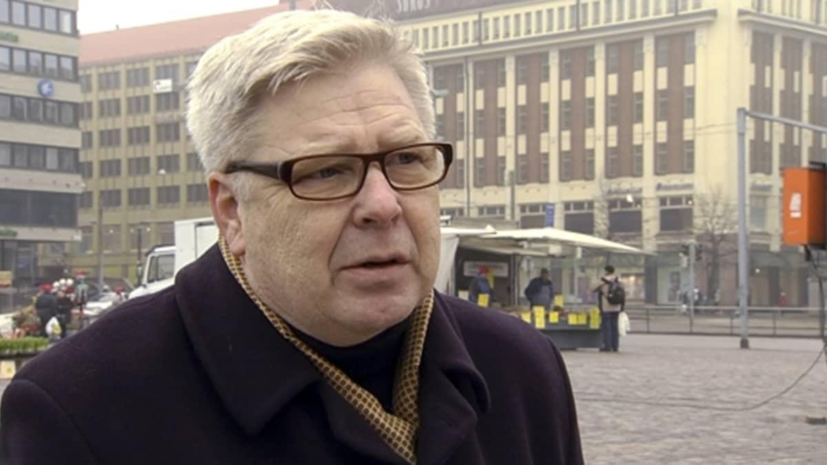 Helsingin yliopiston historian professori Markku Kuisma