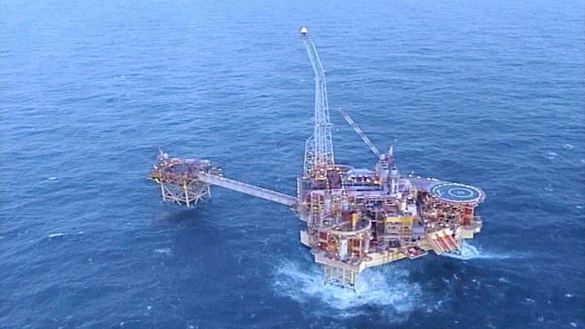 Elgin-porauslautta Pohjanmerellä.