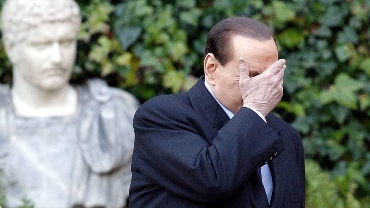 Italian pääministeri Silvio Berlusconi.