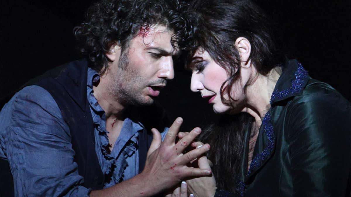 Kohtaus oopperasta Tosca