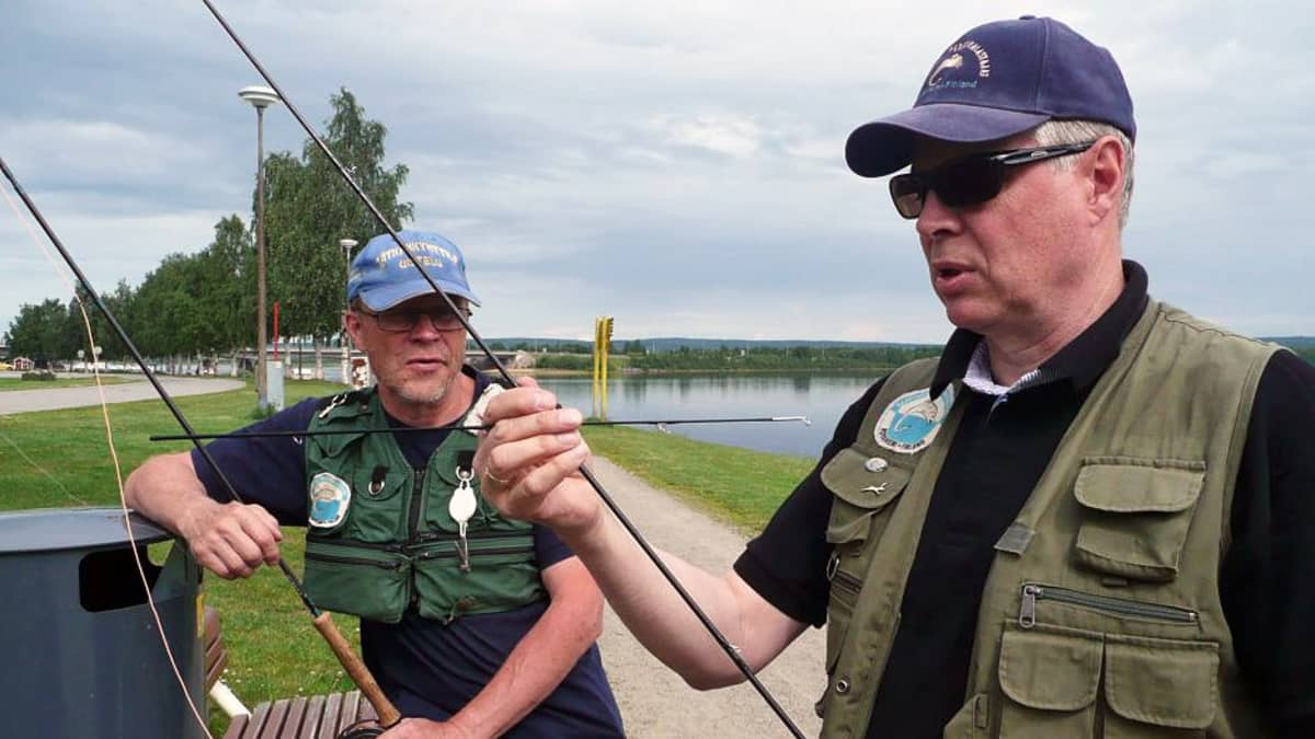 Markku Saarinen (vas.) ja Reijo Sulasalmi