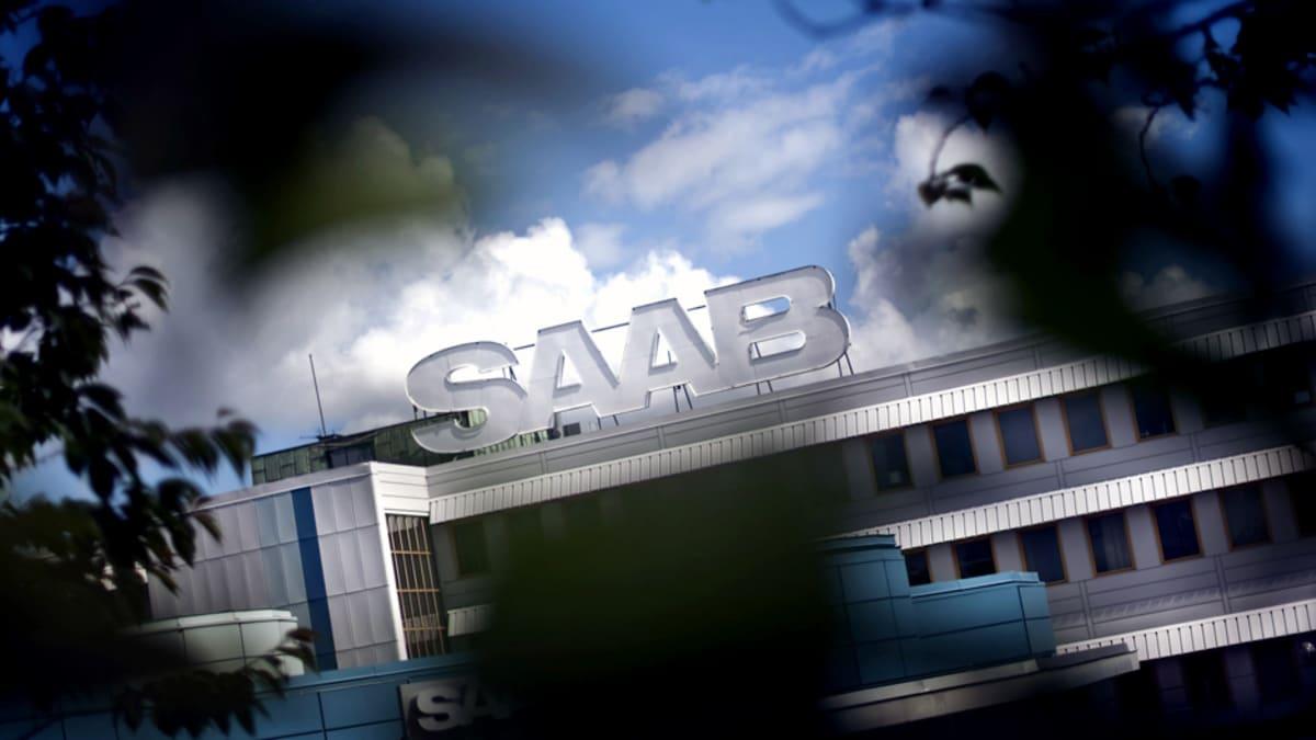 Saabin tehdas Ruotsin Trollhättanissa.