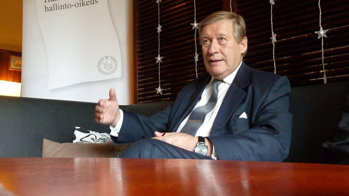 Korkeimman hallinto-oikeuden presidentti Pekka Hallberg