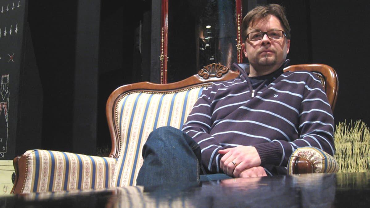 Teatterinjohtaja Juha Vuorinen