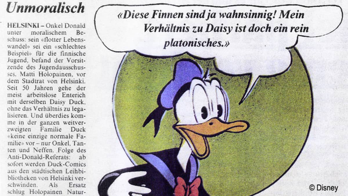Saksalainen lehtileike.