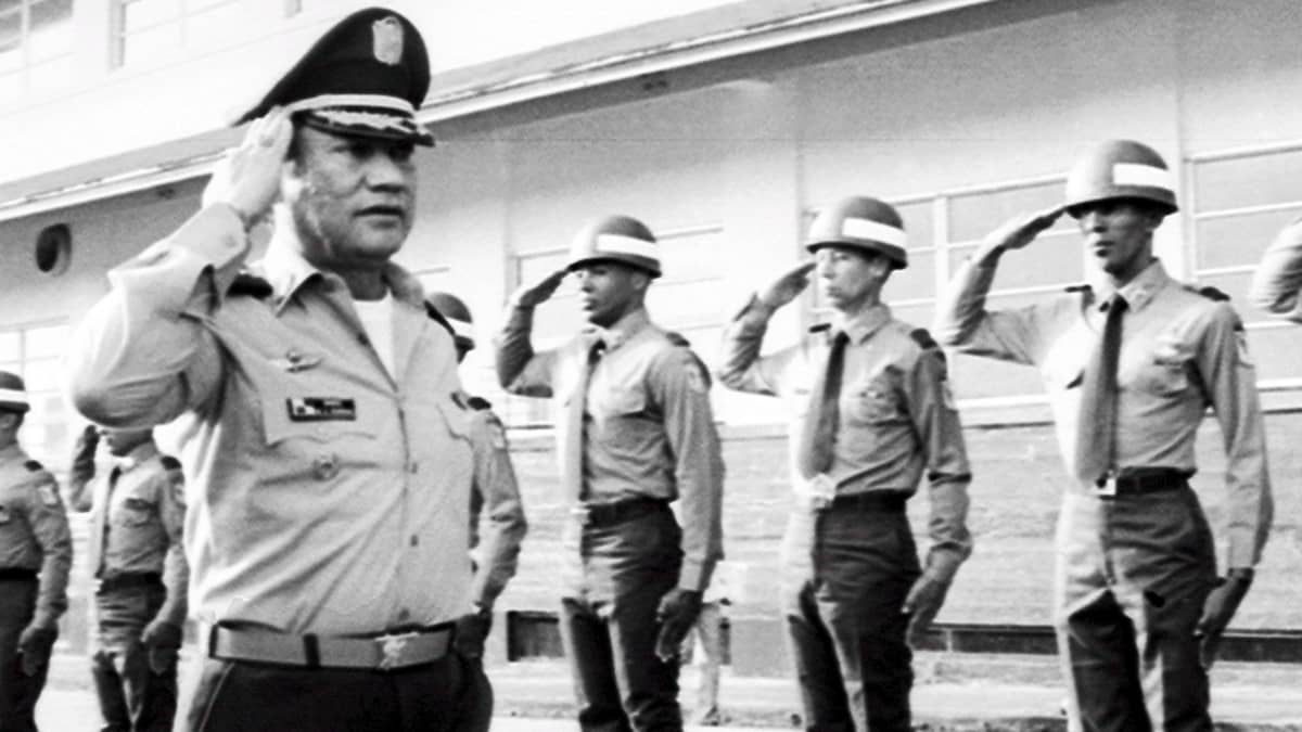 Manuel Noriega vuonna 1985.