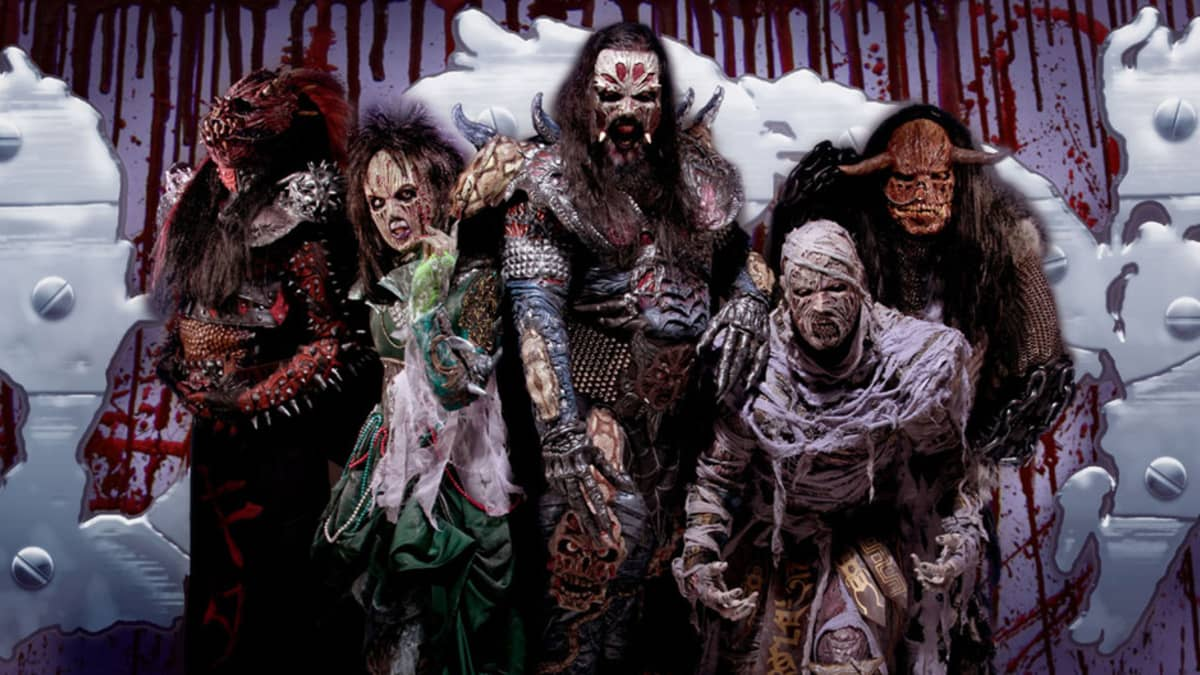 Lordi-yhtye ja uudet maskit