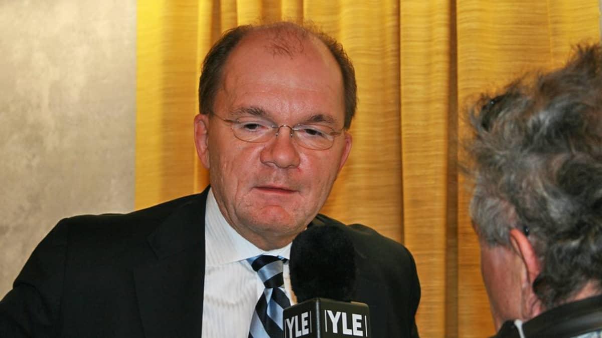 Stora Enson toimitusjohtaja Jouko Karvinen