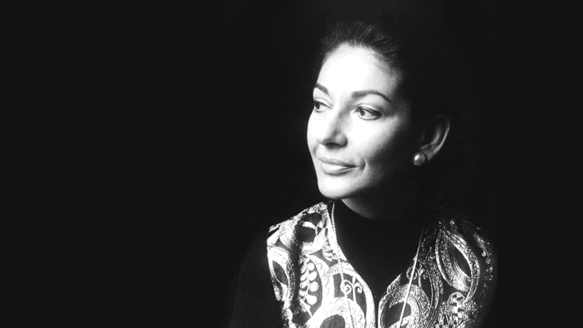 Oopperalaulaja Maria Callas