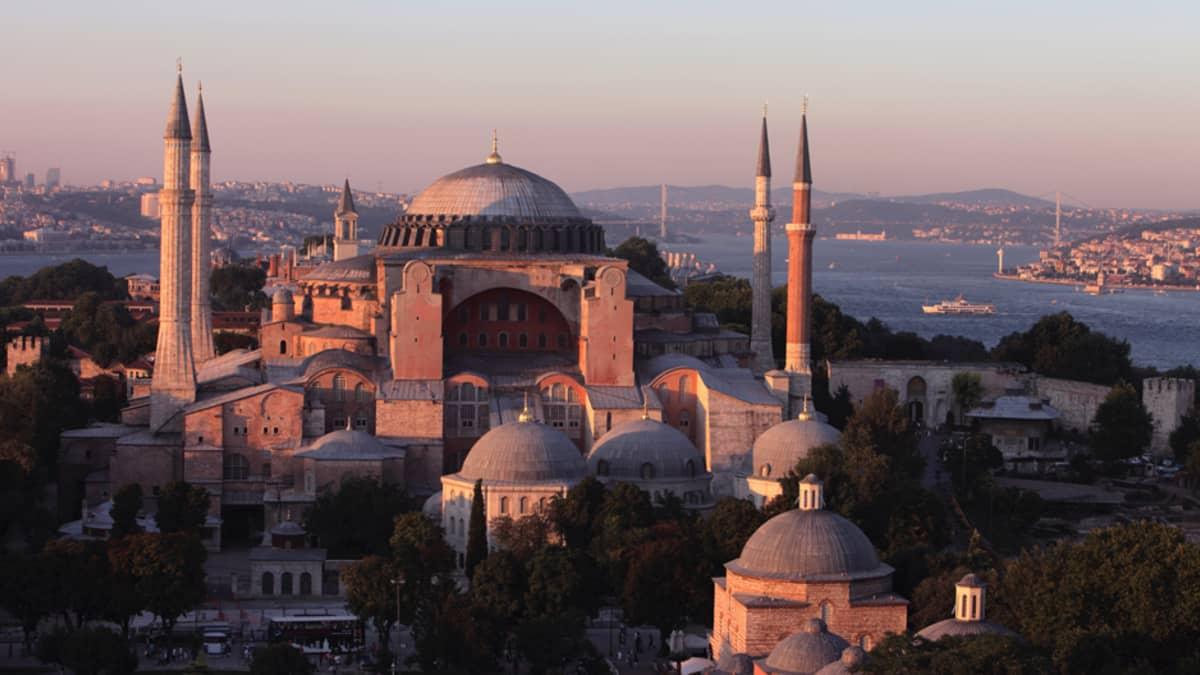 Hagia Sofia Istanbulissa, Turkissa.