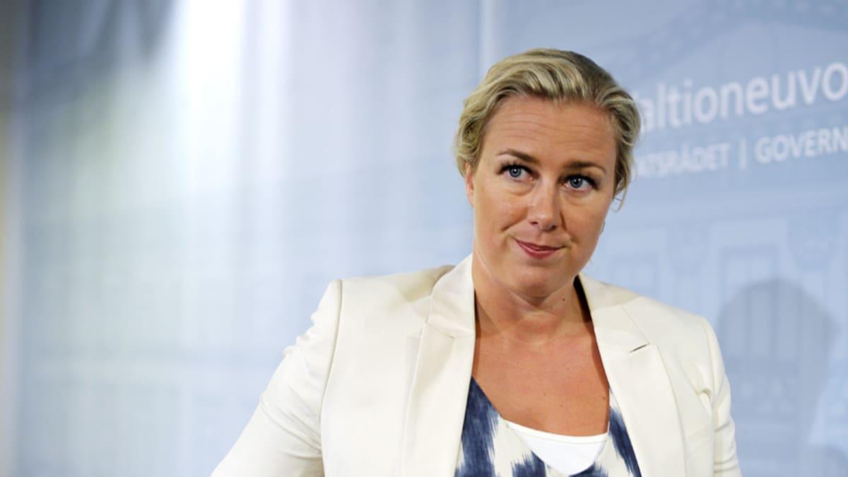Valtiovarainministeri Jutta Urpilainen (sd.).