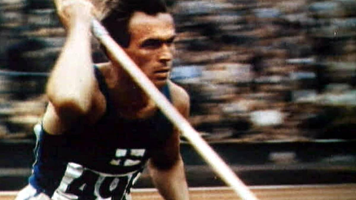 Tapio Rautavaara vuoden 1948 kisoissa.