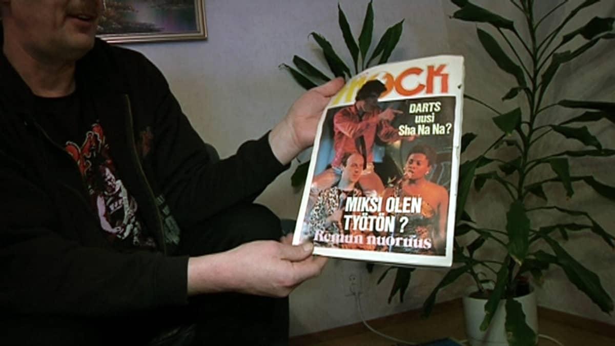 Matti Kyllösen päätoimittama Shock Group -lehti.