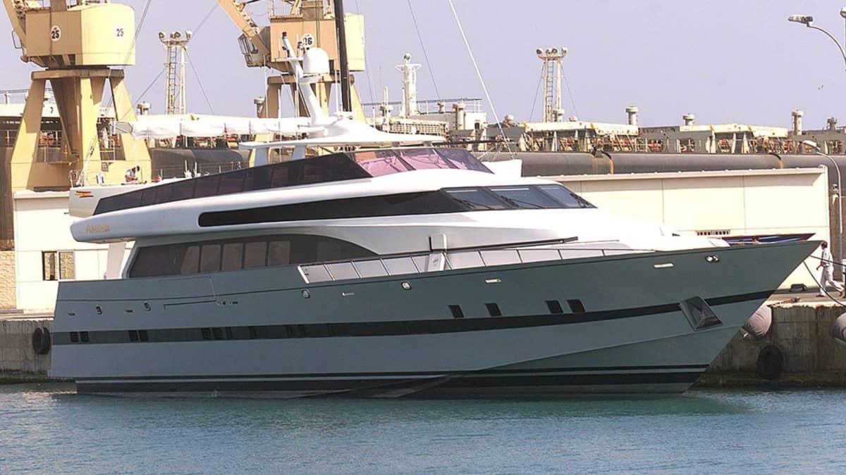 Espanjan kuninkaan Juan Carlosin huvijahti Fortuna Palma de Mallorcan satamassa.