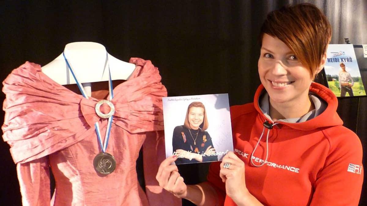Heidi Kyrön ja Souvareiden levy oli tekijöiden omakustanne