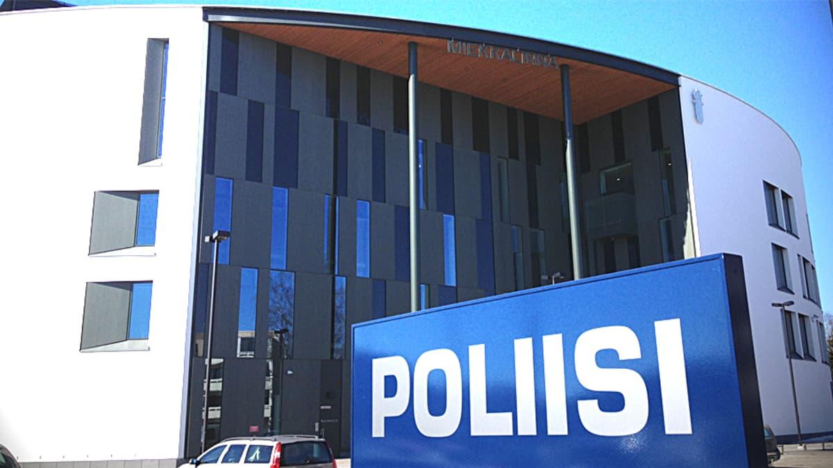 Hämeenlinnan uusi poliistalo Miekkalinna