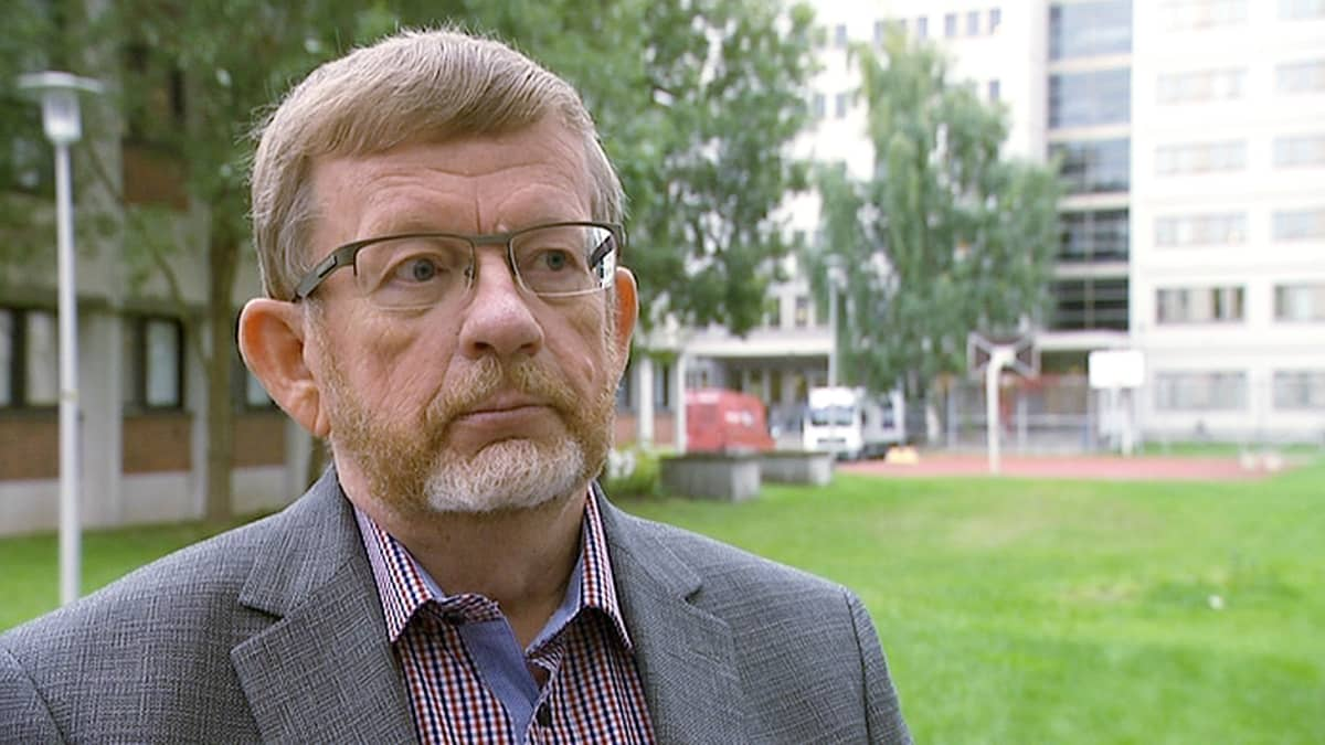 Harmaan talouden tutkija Markku Hirvonen.
