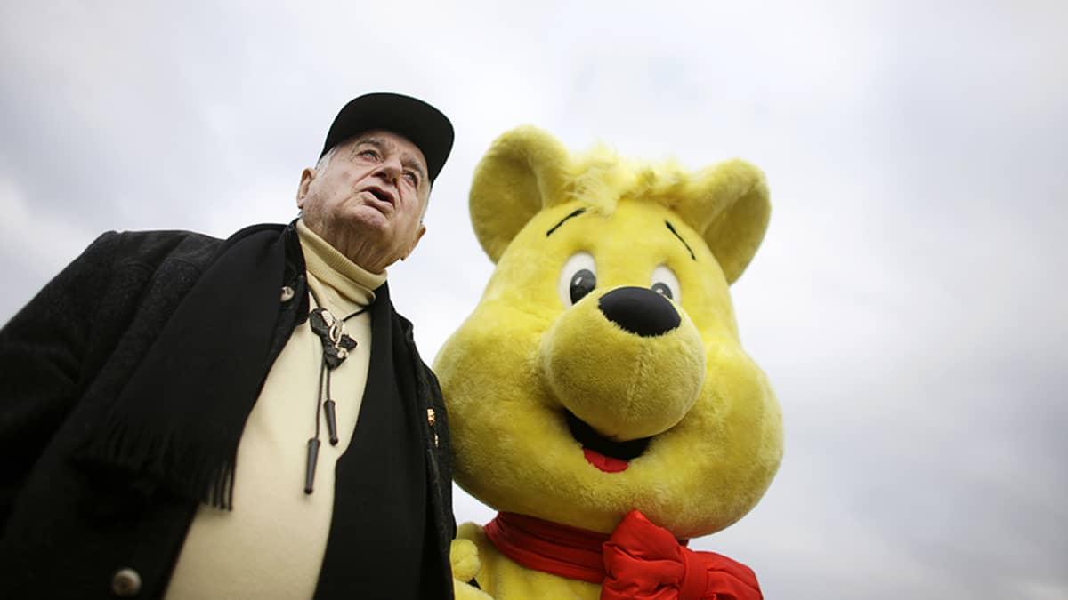 Saksalaisen Haribo-makeisyrityksen johtaja Hans Riegel lokakuussa 2009.