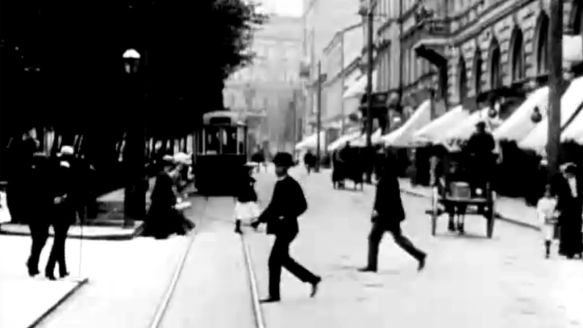 helsinki näkymä 1906