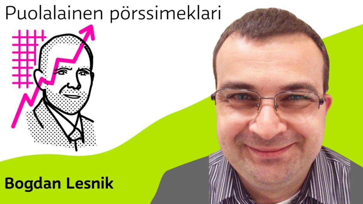 Puolalainen pörssimeklari Bogdan Lesnik