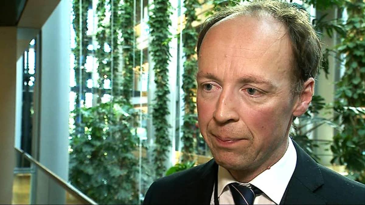 Perussuomalaisten europarlamentaarikko Jussi Halla-aho