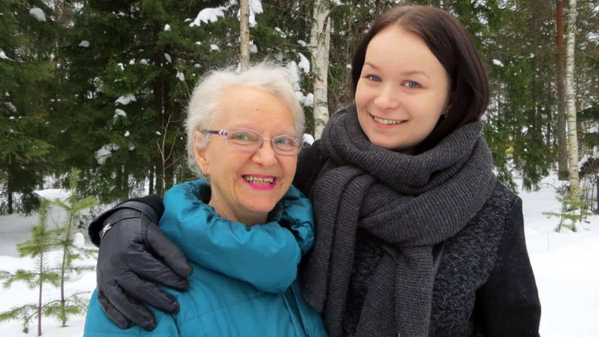 Anja Holpainen ja Anni Myllymäki