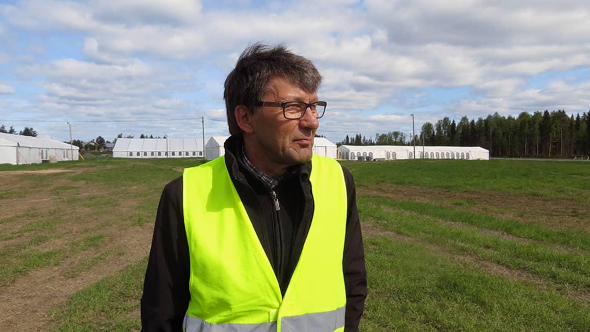 Mikael Keinänen toimii kenttätoimikunnan puheenjohtajana