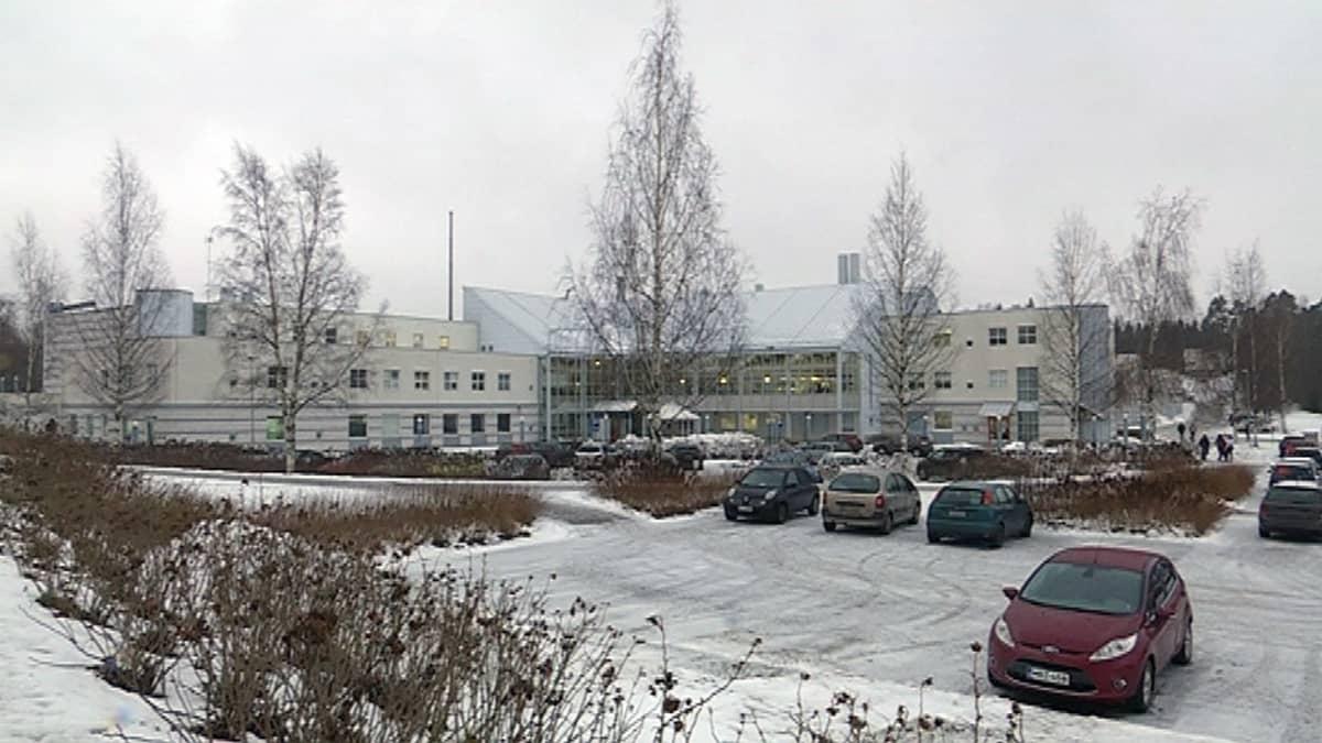 Ammattiopisto Tavastian rakennus Hämeenlinnassa