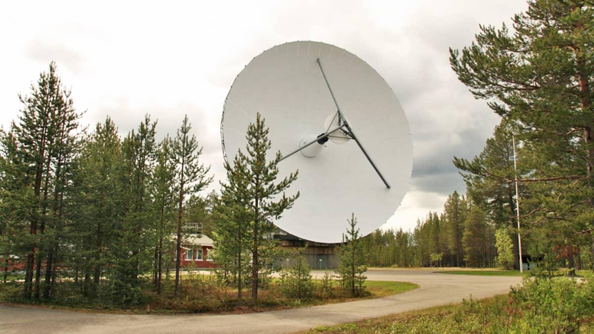 EISCAT -tutka-antenni Sodankylässä